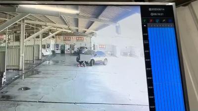 驚悚畫面曝光!男孩遭休旅車輾壓兩次 幸命大只受輕傷