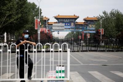 武漢肺炎》北京疫情失控 所有小區實行嚴格「封閉式管理」