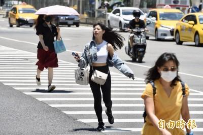 有夠熱!週五9縣市高溫預警 嚴防強紫外線熱傷害