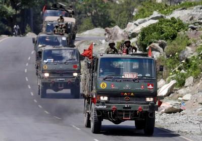 印媒:中國釋放10名印度戰俘 包括1中校3少校