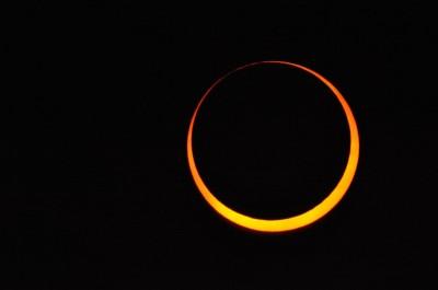 日環食天文奇景21日登場  中部可觀測到大面積日偏食