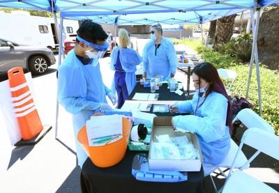 武漢肺炎》美加州創單日最多人染疫記錄 高達4317人確診