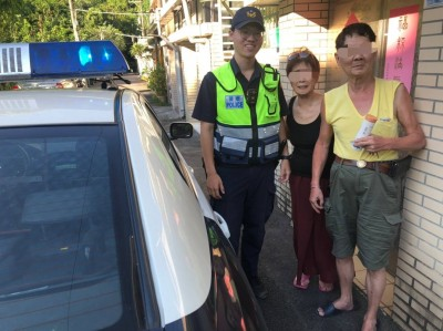 曾是台灣「潛水艦十虎」  退役老軍官中暑路倒獲警救援