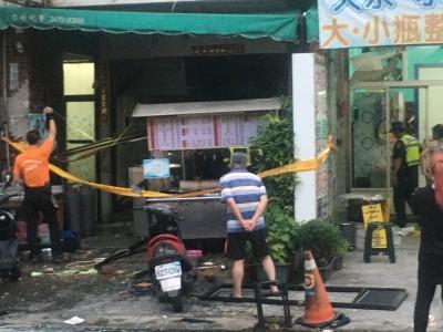 快訊】中市驚傳牛肉麵店瓦斯氣爆 至少8人受傷
