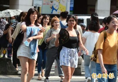 本日最熱!台北38.4度 14縣市高溫警戒