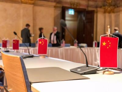 中國拒出席美俄核談判 美軍代表PO五星旗空椅照片酸爆