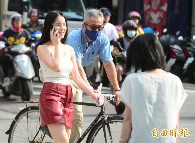 台北、花蓮恐飆38度高溫 中南部易有不定時降雨