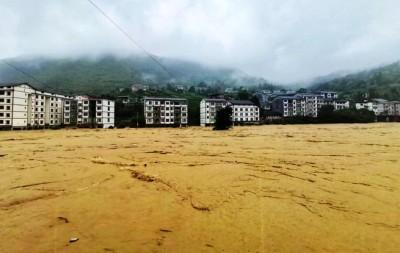 中國暴雨災情持續擴大 官方憂重慶、貴州下一步爆山洪地質災害