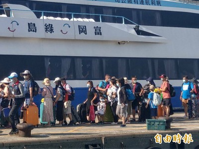 端午連假大爆發 逾5000人湧入綠島、蘭嶼