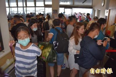 端午連假東琉線爆滿! 小琉球遊客估超過1萬人