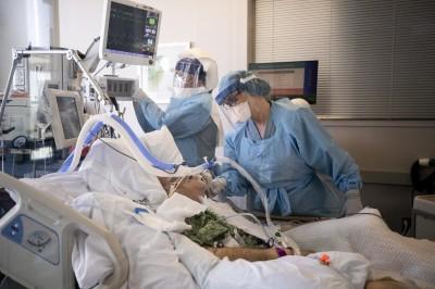 武漢肺炎》美國疫情狂燒 加州新增7149例創單日新高