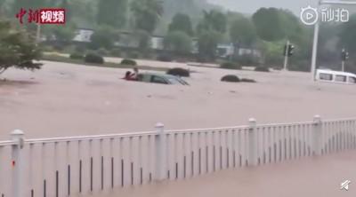 長江流域暴雨釀洪災!半壁江山遭波及 湖北宜昌多處慘淹