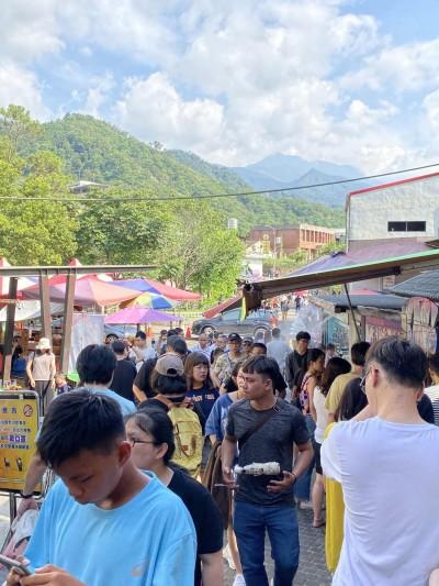 南庄桂花巷老街 喜迎爆滿遊客