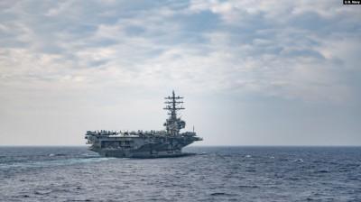 劍指中國!美軍8天內2度在菲律賓海「雙航艦」聯合操演