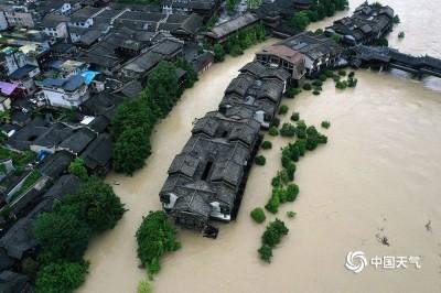 中國洪災不停! 武漢仍有暴雨 重慶21萬戶受災
