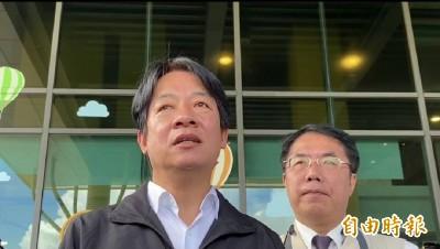 藍委佔議場》賴清德挺陳菊:高市被糾正案比同期雙北少