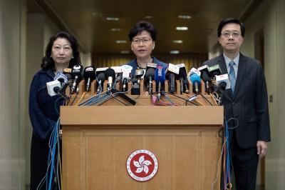 《港版國安法》剛通過 香港特首與檢警2首長馬上向中輸誠