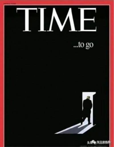 謠言終結站》《時代》雜誌封面驚現川普離去畫面?假圖片!