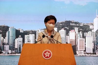 港版國安法通過 港媒爆林鄭也沒看過內容