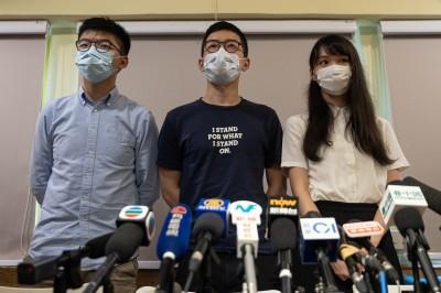 羅冠聰、周庭跟進退出香港眾志 以個人名義捍衛香港