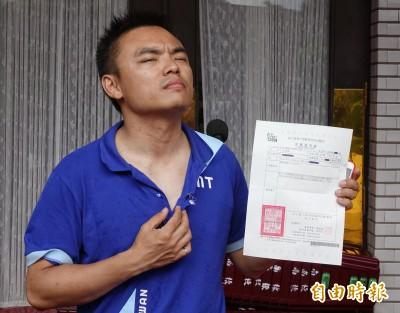 藍委佔議場》被控推打邱議瑩 洪孟楷不認:沒攻擊任何女性