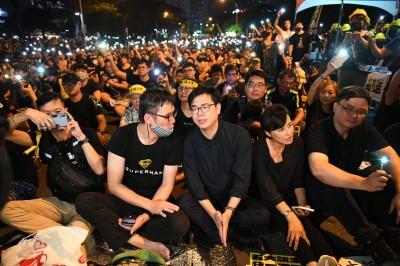 「我在高雄撐香港」 陳其邁前往台北參加反送中週年活動