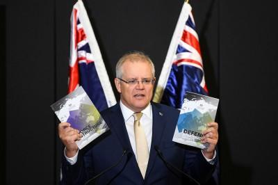劍指中國? 澳洲未來10年軍費將增5兆台幣