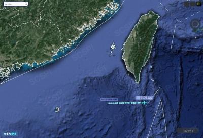 中國展開西沙軍演 美軍機再度現蹤台灣西南空域