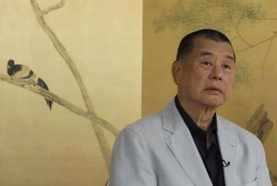 恐入獄!黎智英接受《美聯社》專訪:堅守香港處之泰然