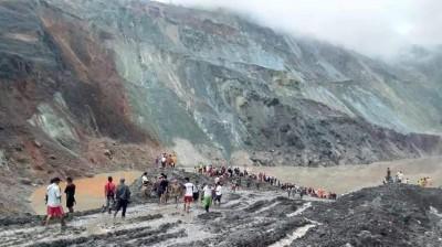 緬甸玉石場驚傳崩塌 已知至少50死200人受困