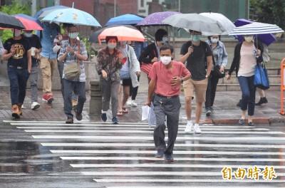 各地午後雷陣雨時間提早!北部、山區防大雷雨