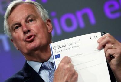 英國脫歐談判破局 提早1天散會