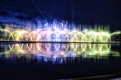 這夏好看了! 故宮南院水舞、無人機秀明起超炫登場