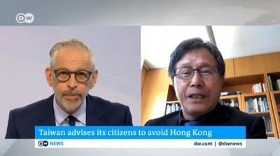 受《德國之聲》專訪 謝志偉:全球應該制裁中國