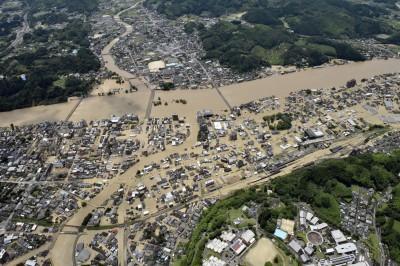數十年一見恐怖暴雨來襲 日本熊本2死、20萬人避難(不斷更新)