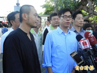 林昶佐、楊大正力挺 陳其邁:當選後恢復大港開唱