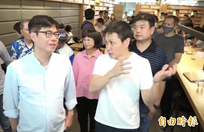陳其邁:當選市長就恢復「大港開唱」 不清楚李眉蓁立場