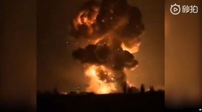 中國四川鞭炮工廠暗夜爆炸 衝擊波強大震碎民宅窗戶