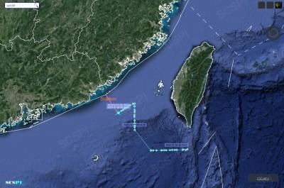 美軍EP-3E電偵機今更貼近偵察  距中國廣東僅剩51.68浬