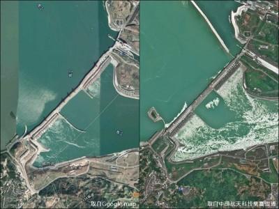 三峽大壩真的變形? 中國測繪師:是Google的問題
