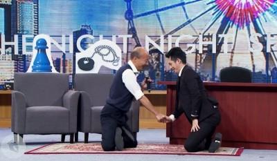 韓國瑜自費上「博恩夜夜秀」 付的錢是蔡英文2.5倍