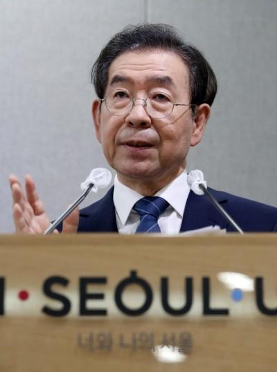 初判首爾市長朴元淳無他殺可疑 南韓警方將不驗屍