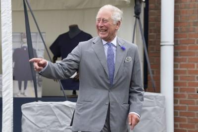 糗!英男與王儲對談突昏倒 查爾斯看傻眼