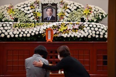 首爾市長輕生 文在寅等政要弔唁致意