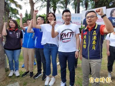 高雄市長3候選人假日PK 國民黨立院生力軍南下為李眉蓁助選