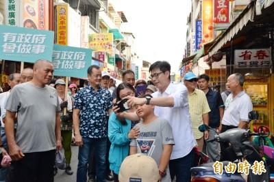 反擊被疑「國家隊」支持 陳其邁諷李眉蓁別成「韓市長說的對」