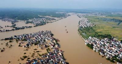 暴雨洪水不斷!鄱陽湖暴「長」 超越青海湖成中國最大