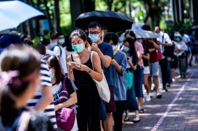 逾58萬人參與香港民主派初選投票 區諾軒:勇抗國安法陰霾