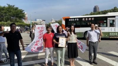 府前遊行抗議 民眾黨團:盼總統撤回監院名單