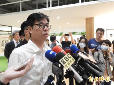 高雄市警局長遭拔官 陳其邁:尊重中央對於警察人事的安排